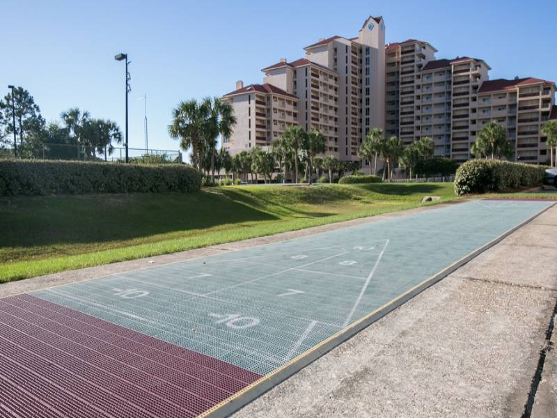 Beach Manor shuffleboard court