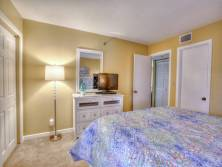 Guest Bedroom - Bed - Flatscreen TV- Bathroom