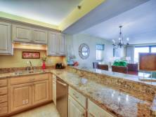 Kitchen - Granite countertops - Dining room