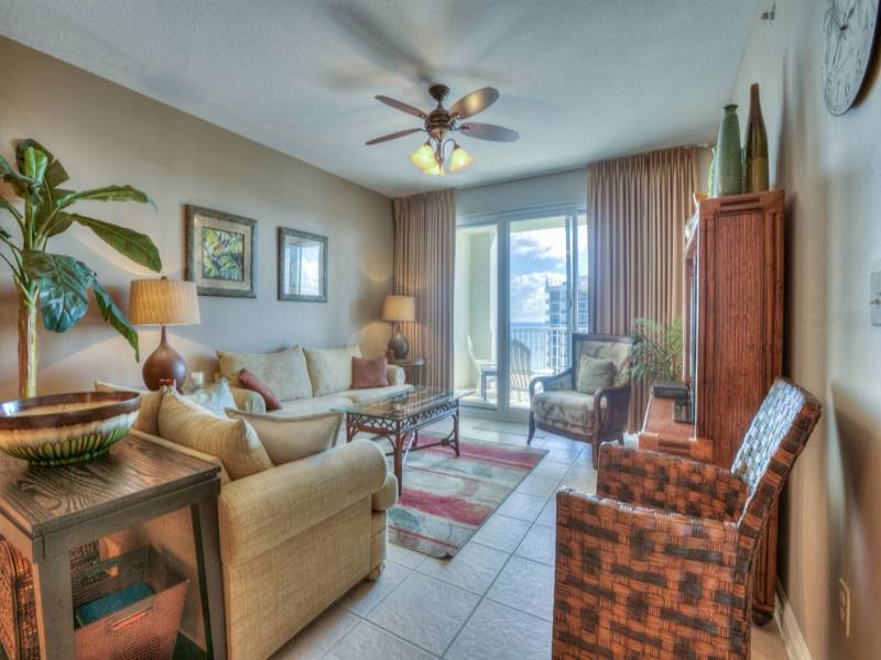 Ariel Dunes I 1402 in Seascape Resort - Enjoy gorgeous Gulf views from your living room