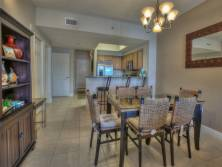 Ariel Dunes I 1402 in Seascape Resort - Ample dining room seating for 6 plus 2 barstools