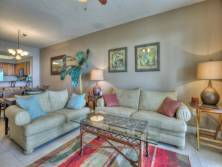Ariel Dunes I 1402 in Seascape Resort - Spacious seating plus a sofa sleeper for 2 extra guests