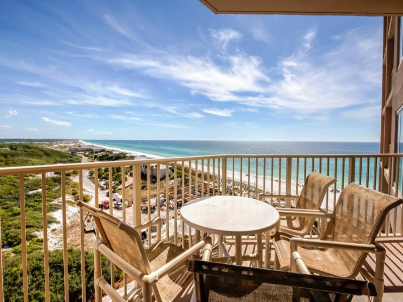 Beach Manor 806 Balcony Gibson Beach Rentals