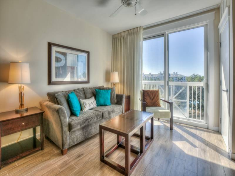 Gibson Beach Rentals Sandestin Resort vacation condo  - living space