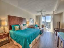 Gibson Beach Rentals Sandestin Resort vacation condo  - king bed and living space