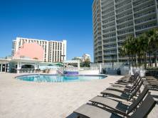 All Tops'l Resort guests have access to the lower deck pool.