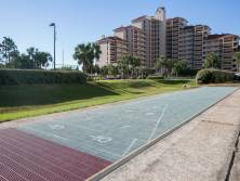 Shuffle Board ~ located at the Tides Complex