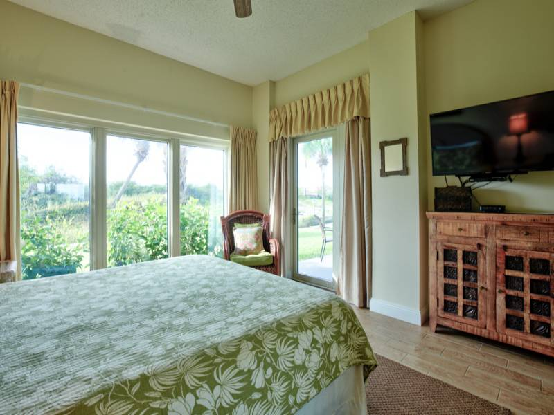 Lots of light and great views from the Master Bedroom to help you relax