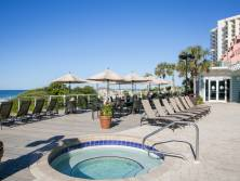 Beach Manor guests have use of the Tops'l Resort Hot Tub right next door in front of The Tides