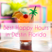 Happy Hours in Destin Florida