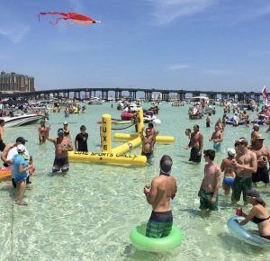 Crab Island Destin Florida Attraction Gibson Beach Rentals