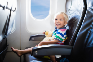 family air travel tips