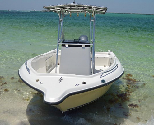Fishing boat rentals in Destin