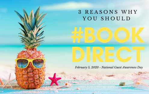 3 Reasons to book direct with Gibson Beach Rentaks
