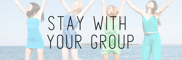 Summer Tip by Gibson Beach Rentals - Stay with your group
