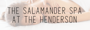 the salamander spa at the henderson