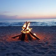 Miramar Beach Bonfire