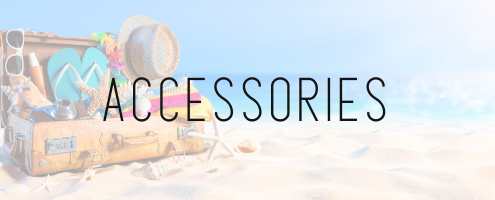 what to pack for your Florida beach vacation: accessories